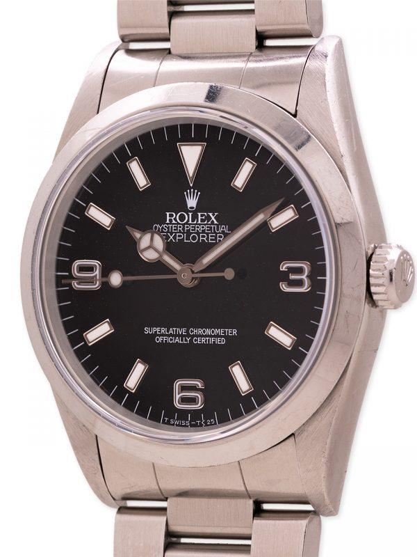 Rolex Explorer 1 ref 14270 Tritium circa 1997