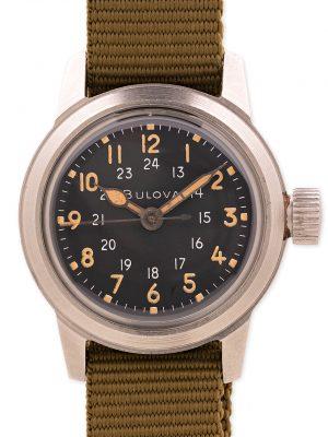 Bulova US Military Issue A17A 24 Hour Dial circa 1950's