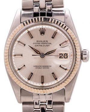 Rolex Datejust ref 1601 SS/14K WG circa 1963