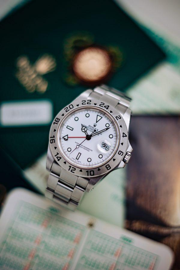 Rolex Explorer II ref 16570 Polar circa 2001 Box & Papers