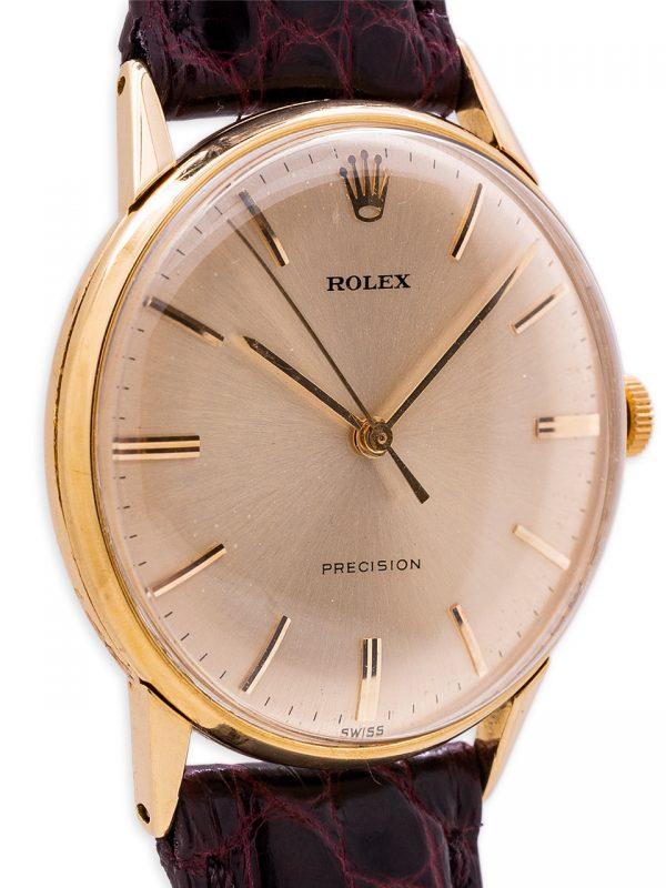 Rolex Precision Dress Model 18K YG ref 3745 circa 1960's