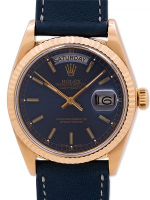 Rolex 18K YG Day Date President ref 18038 circa 1980